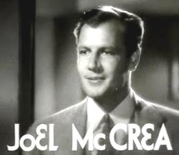 McCREA, Joel -