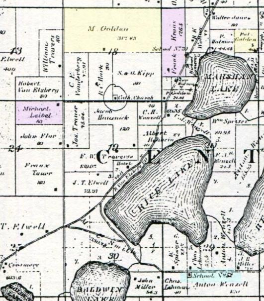Centreville 1888 detail