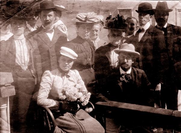 Sailing Day - New York City - September 1901