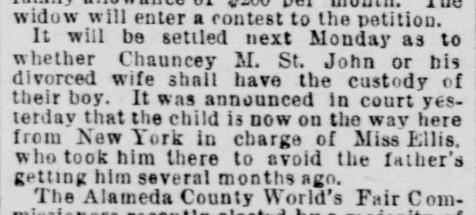 StJohn Custody 30 Nov 1892