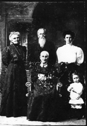 Armstrong family c1910