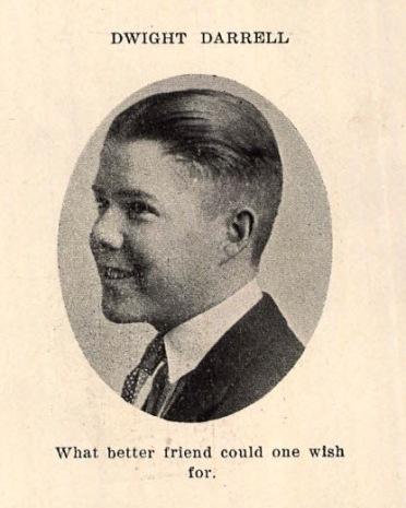 Dwight Darrell, 1922