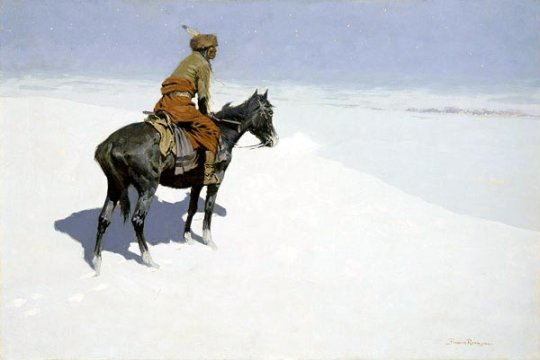 Frederic_Remington_The_Scout_Friends_or_Foes