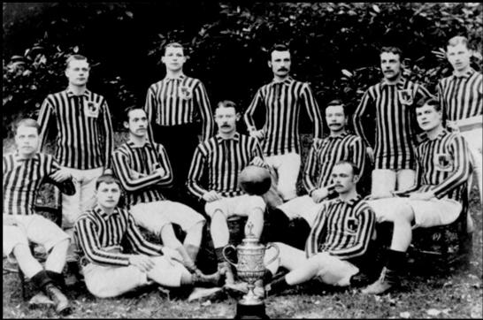 Aston Villa FC-Cup Champs 1887